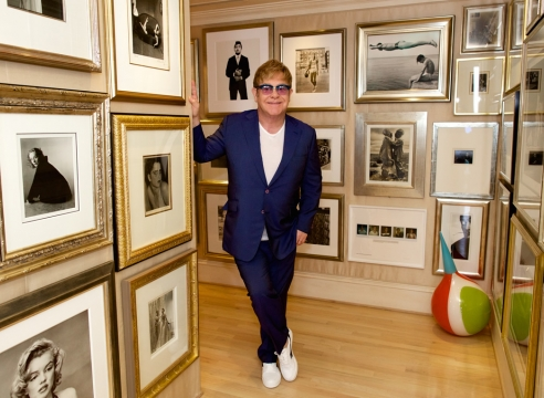 Sir Elton John Announces Selection for AIPAD 2018 Special Exhibition