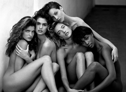 Herb Ritts | Supermodel: Stephanie, Cindy, Christy, Tatjana, Naomi