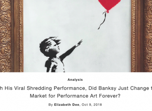 Op-Ed: Did Banksy Change the Market for Performance Art Forever?