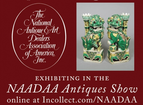 Exhibiting online via Incollect: NAADAA Antiques, Art & Jewelry Show: June 24 - July 8 !