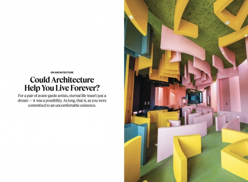New York Times' T Magazine: Could Architecture Help You Live Forever?