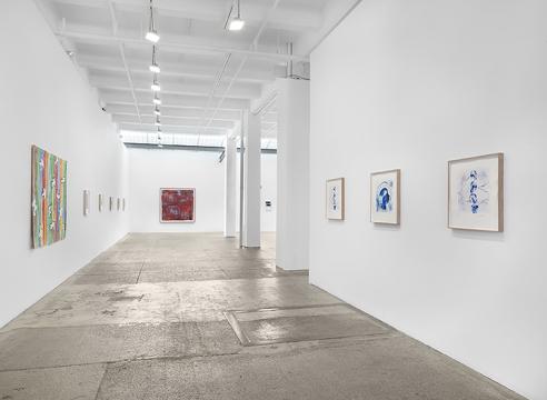 Works by Etel Adnan, Leonardo Drew, Samuel Levi Jones, Jaume Plensa, Kate Shepherd, and Barthélémy Toguo