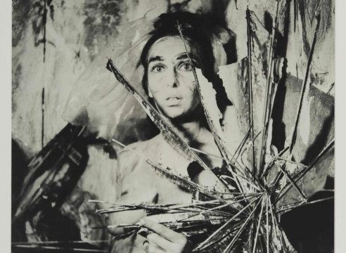 "Carolee Schneemann, from the series ""Eye Body: 36 Transformative Actions for Camera,"" (1963/2005)."