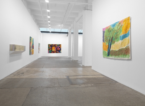 Installation Etel Adnan: Seasons