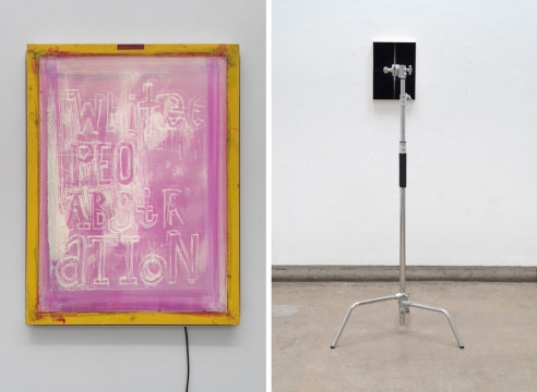 ART CITIES: Zurich-Pope.L & Adam Pendleton