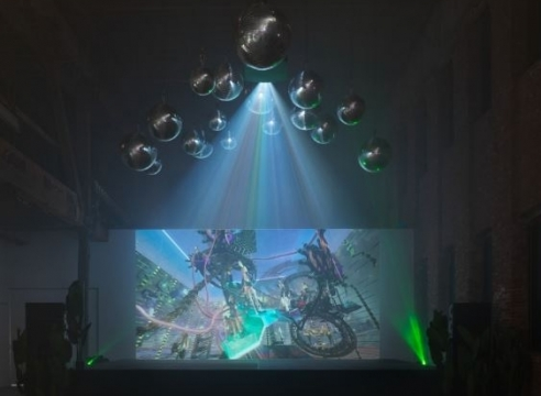 Artist Jacolby Satterwhite's Euphoric Universe Traverses Digital and Physical Realms