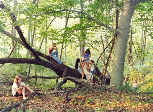 Documenting Girlhood: Justine Kurland's Captivating Pictures, 20 Years On