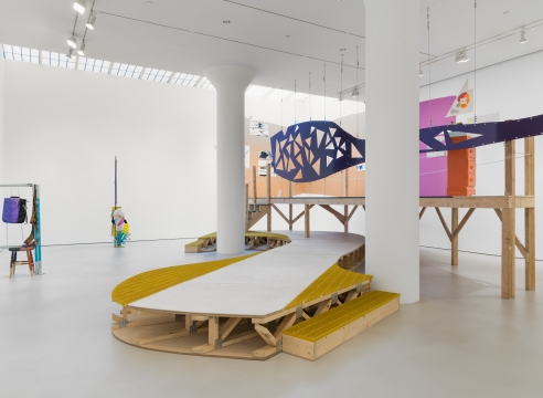Another Banquet: Jessica Stockholder Offers Food For Thought at Mitchell-Innes & Nash