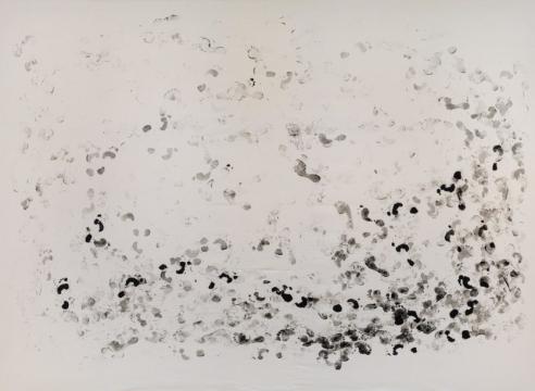 Annette Lemieux Paces-Out Painting's Coffin