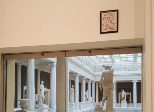 Artworks from Two Museums Share a Space, But Not a Conversation