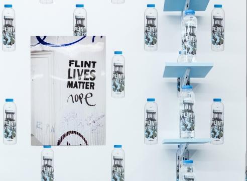 The Politics of Adversity in Pope.L's Flint Water Project