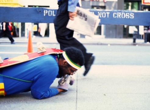 Pope.L Begins His New York Fall Art Crawl