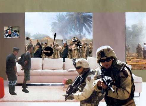 Of War and Remembrance: Martha Rosler's montages conjure Vietnam and Iraq