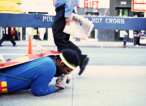 Pope.L Wants You to Crawl Across New York With Him