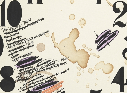 'My Pen is Huge' by Amanda Ross-Ho at Mitchell-Innes & Nash Gallery, New York