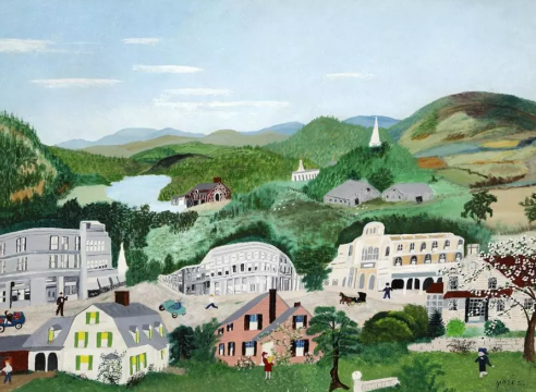 How Modern was Grandma Moses