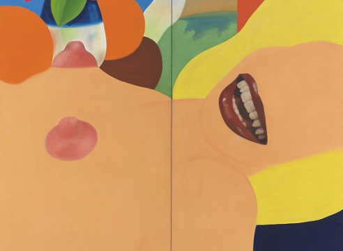 From magazine cut-outs to brand-name billboards, gallery show offers a peek into Tom Wesselmann's estate