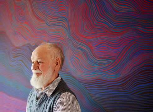 Julian Stanczak, 88, Who Helped Shape Op Art Movement, Dies