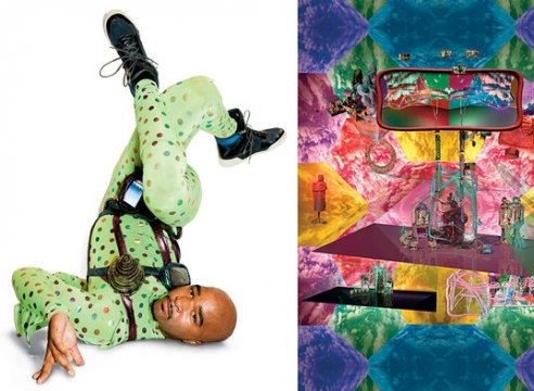 Jacolby Satterwhite's Kinetic Mixed-Media Creations