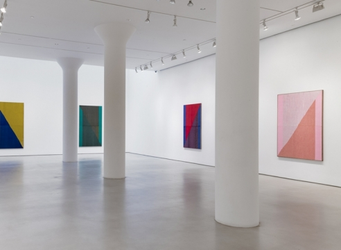 Brent Wadden's Abstract Weavings are Equal Parts Anni and Josef Albers