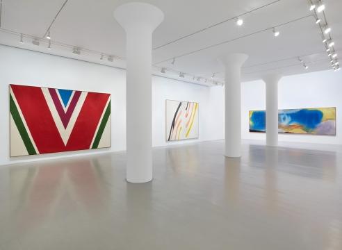 Helen Frankenthaler, Morris Louis, Kenneth Noland, Frank Stella