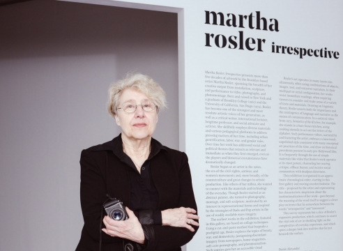 Martha Rosler Isn't Done Making Protest Art