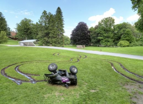 Okay Mountain-4 Wheeler Rollover-deCordova Sculpture Park and Museum, Lincoln, MA