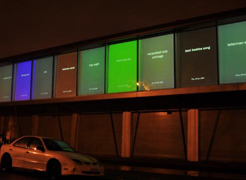 Jason Salavon-Spigot (Oracle's Reflection),2009-Hyde Park Art Center, Chicago