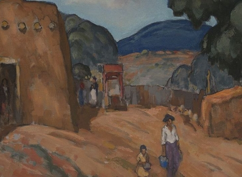 Village Life   Art, Culture and Community in New Mexico