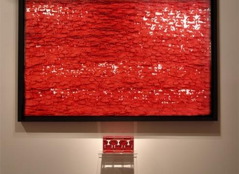 《吕胜中在前波画廊》 Eduard M. Gomez 撰