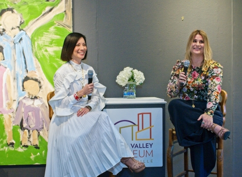 Lucy Liu is the keynote speaker at the 'Phenomenal Women 2020' Luncheon at the Napa Valley Museum