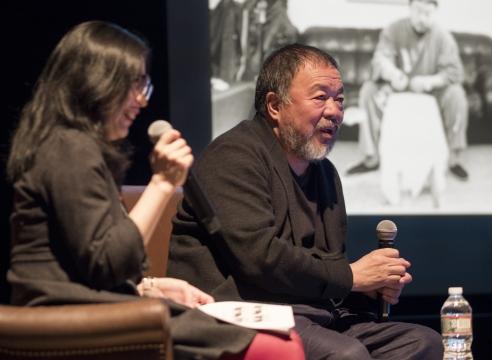 Ai Weiwei's Beijing Photographs 1993-2003 Book Launch at Museum of Fine Arts, Boston