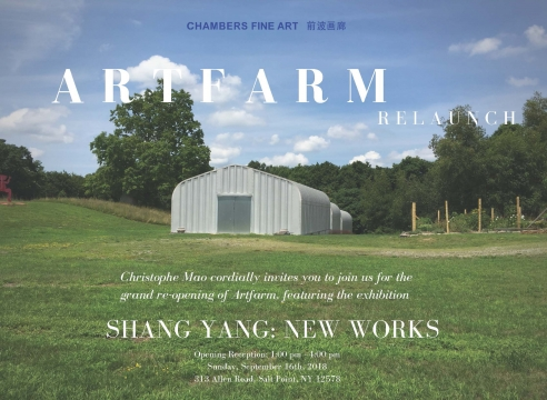 Artfarm Relaunch | Shang Yang: New Works
