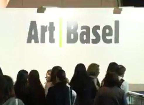 Christophe Mao interviewed by BBC News at Art Basel Hong Kong