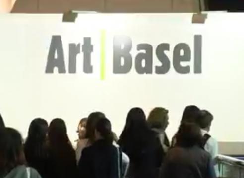 Christophe Mao interviewed by BBC News at Art Basel Hong Kong