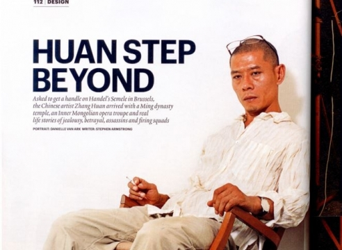 Zhang Huan: Huan Step Beyond, by Stephen Armstrong