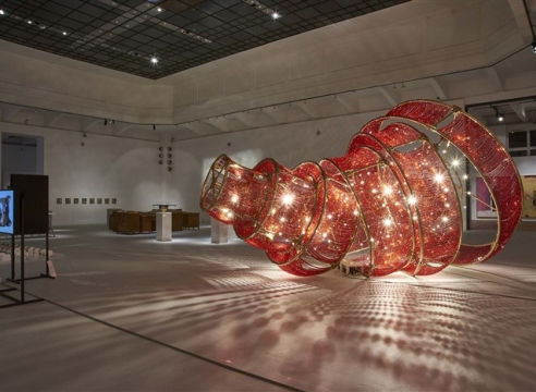 """Ai Weiwei, Feng Mengbo, Shi Jinsong, Song Dong in """"CHINESE WHISPERS: Recent Art from the Sigg Collection"""""""
