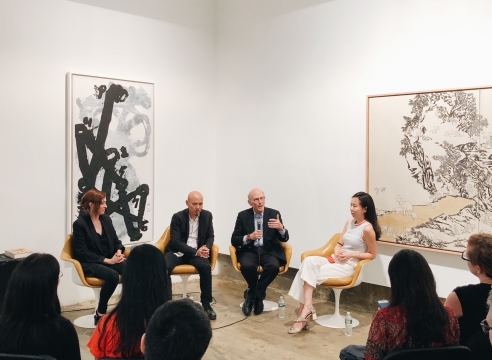 Yang Jiechang Panel Discussion with  Martina Köppel-Yang, David Sensabaugh and Xin Wang