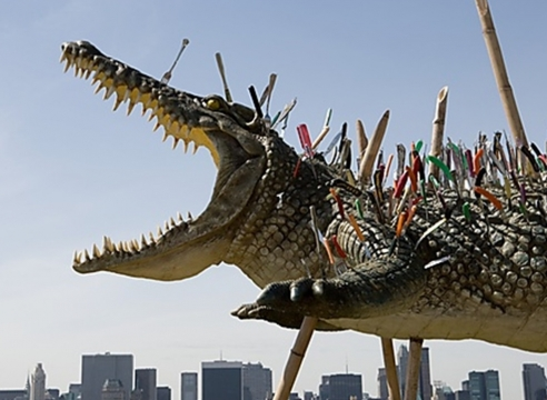 Cai Guo-Qiang on the Roof: Transparent Monument