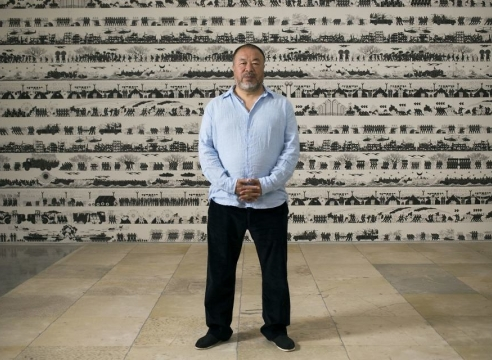 Ai Weiwei: Resisting boycott calls in order to have 'voice heard', by Mike Smith