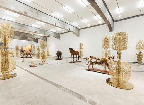 """Wu Jian'an: """"Omens"""" at Beijing Minsheng Art Museum, by Rebecca Close"""