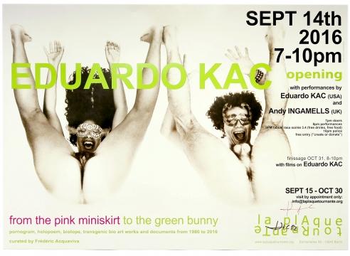 Alternate Projects welcomes Eduardo Kac