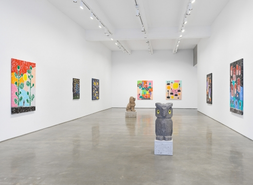 "Olaf Breuning exhibition ""RAIN"""