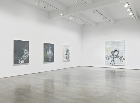 Gary Simmons at Metro Pictures
