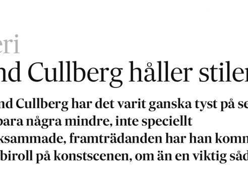 Erland Cullberg / Konstakademien