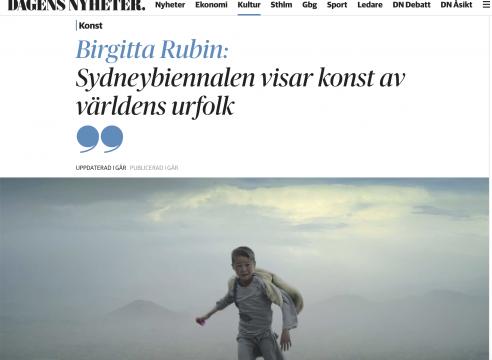 Anders Sunna / Sydneybiennalen
