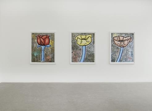 Donald Baechler | Recent Works