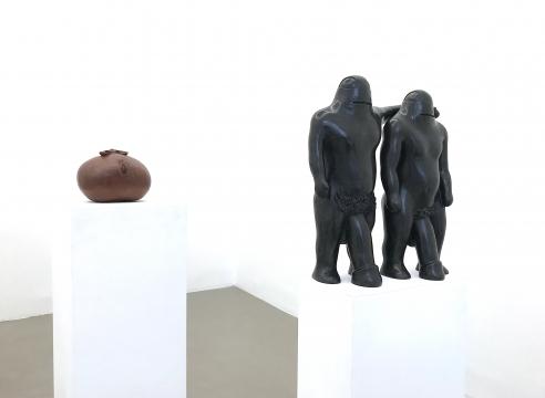 Objects and sculptures by Lena Cronqvist, Marie-Louise Ekman, Peter Frie, Bjarne Melgaard, Dan Wolgers