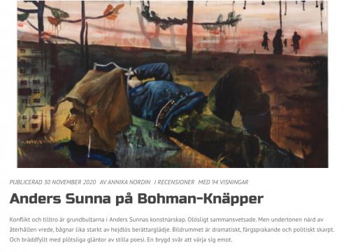 Anders Sunna, Tornelappmark