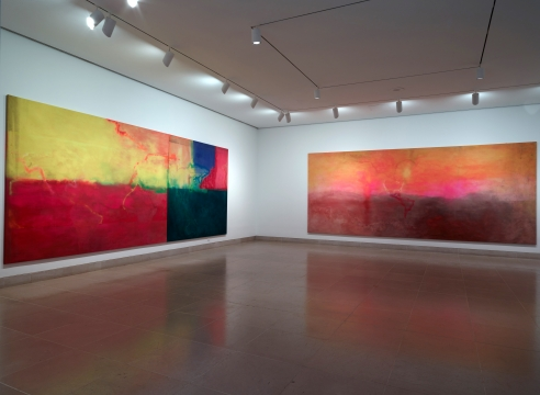 Frank Bowling: Map Paintings